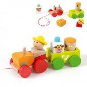 Lesene igrače za prijetno in zabavno otroško igro