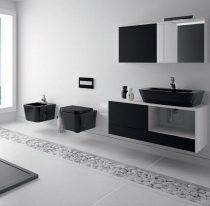 Kakovostna kopalniška keramika v več elementih