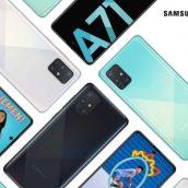 Samsung Galaxy A71 prinaša več